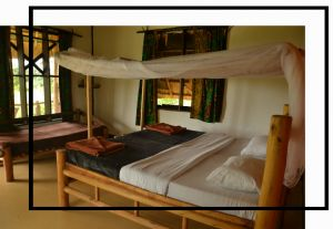 Lodge by Murchison Falls